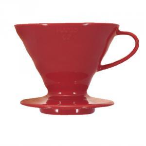 HARIO V60 紅色02磁石濾杯 VDC-02R