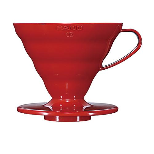 V60紅色02樹脂濾杯 VD-02R